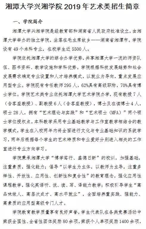 湖南湘潭大学兴湘学院怎么样?