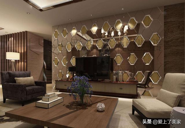 客厅背景墙拼镜玻璃有哪些优点?快来看一看吧~