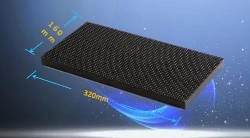 小模组,大显示|320*160mm成为大显示行业标准
