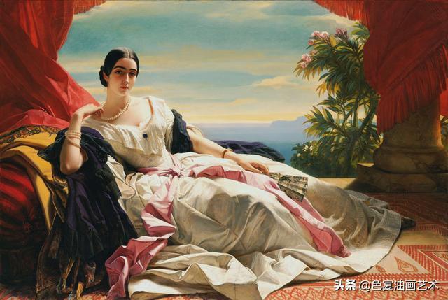 19世纪欧洲宫廷油画精选高清图集