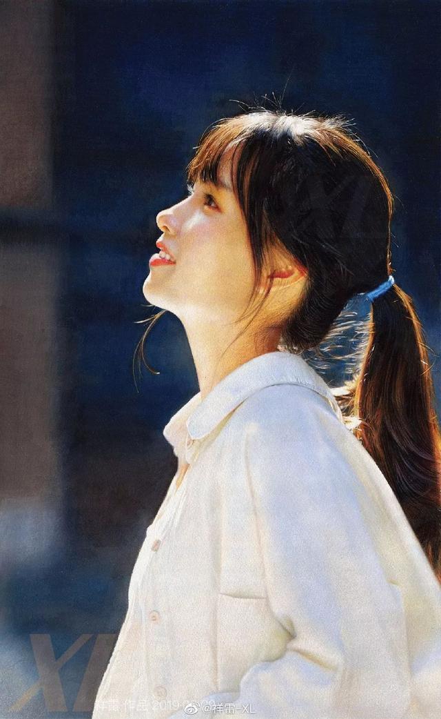 【彩铅画】唯美彩铅美女插画图片欣赏-露西学画画