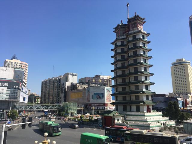 郑州标志性建筑手绘图