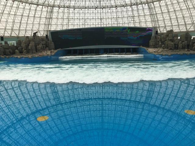 芜湖大浦海啸馆是世界上最大的海啸体验馆