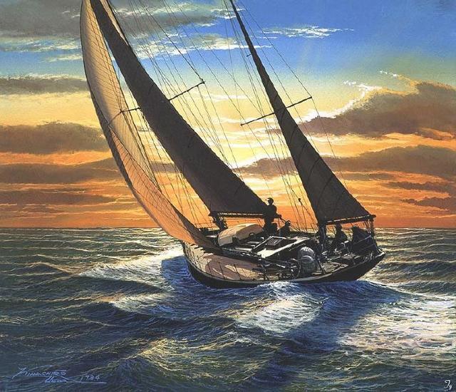 红船精神绘画