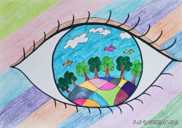 儿童水粉范画大全图片