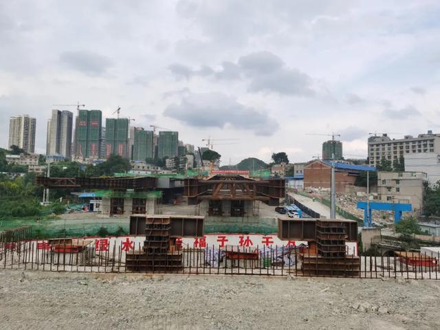 """人春钢构承建的马王庙金钟河桥工程——实现贵阳市""""两个第一"""""""