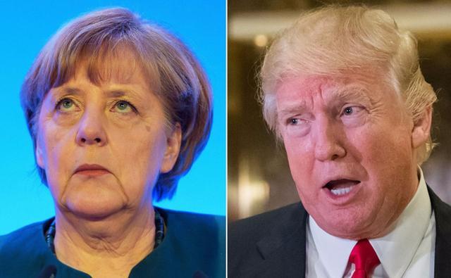 默克尔向美国服软了?还是低估了德国,又一次给美国提出了难题