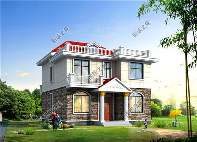 房子设计图农村两层