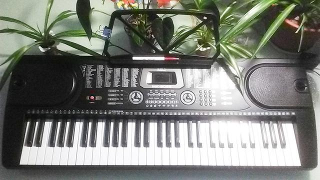 电子琴键盘基础轻松就学会左手1、5、8度音分解和弦伴奏肢体13251