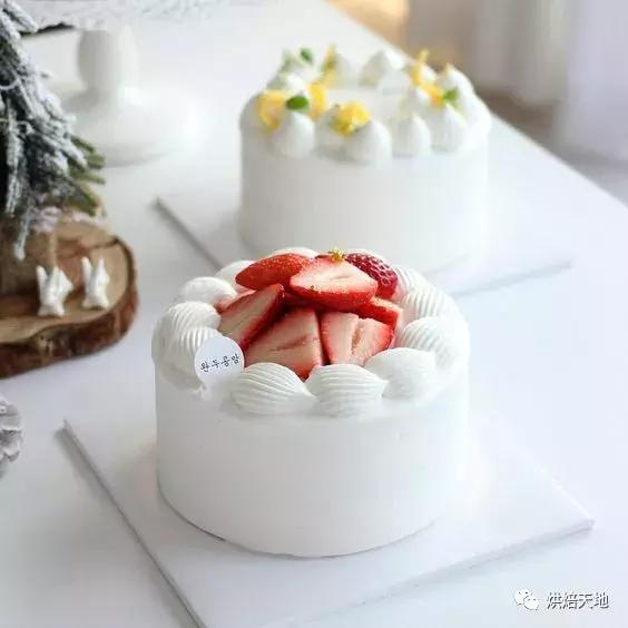 60款小清新蛋糕裝飾,最火的就是Ta們了