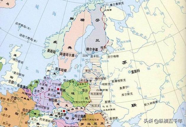 二战结束后,苏联扩张了多少领土?面积相当于两个德国