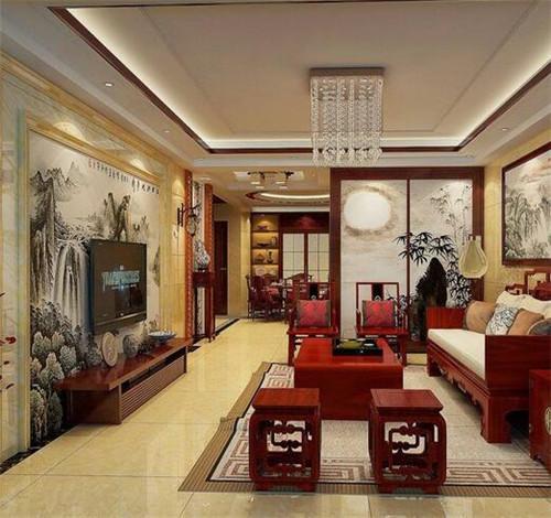 客厅适合挂什么字画?客厅挂画风水有什么讲究?