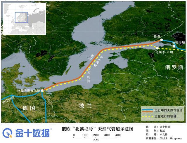 """美国宣称要出手,惩罚俄罗斯天然气项目的""""金主""""!欧洲27国反对"""