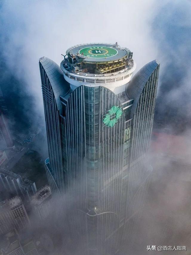 广西第二高楼 - 381米龙光世纪!