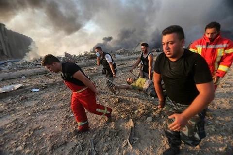 3000多邻国人死伤,爆炸堪比原子弹!以色列:跟我无关