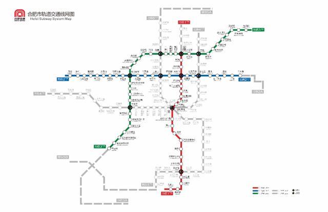 合肥地铁6号线线路图