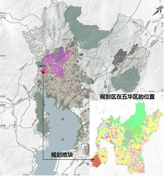 昆明昭宗片区3615亩规划人口增至4.6万人,俊发或已介入片区城改