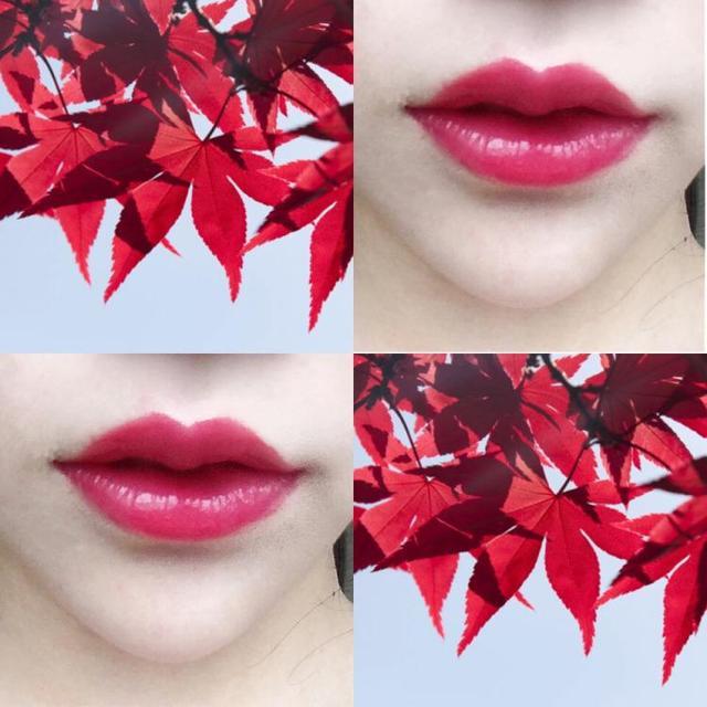 小姐姐用玫瑰花瓣做口红,不添加任何色素,涂在嘴巴上香甜无味!