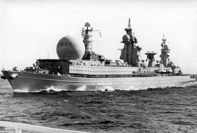 核动力侦察船图片
