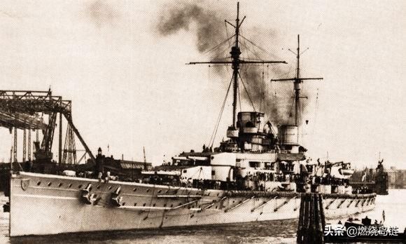 """德意志帝国海军最强大的快速打击力量""""德弗林格尔""""级战列巡洋舰"""