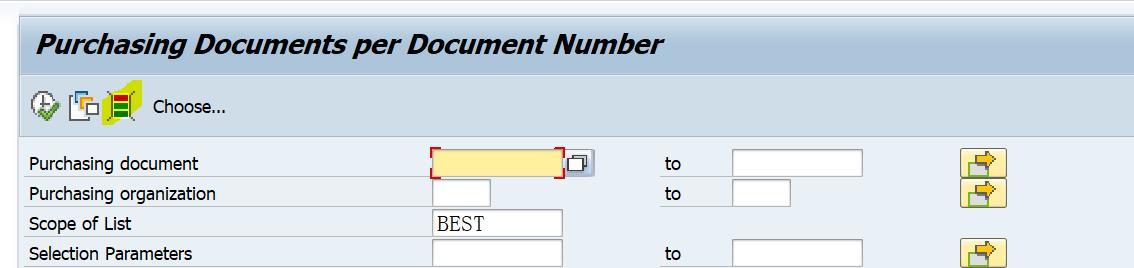 「SAP技术」SAP ME2N报表能按'order acknowledgement'查询PO
