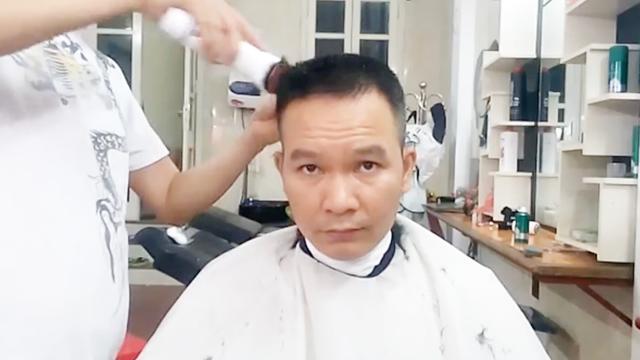 男士圆头发型图片