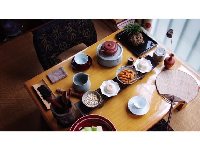 茶具摆放静物