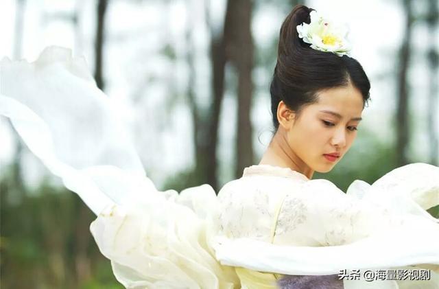 盘点刘诗诗超美的古装造型图片,温顺善良龙葵、白衣飘扬辛十四娘