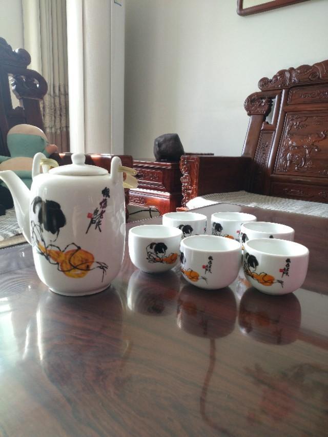 淄博窑黑釉瓷器图片