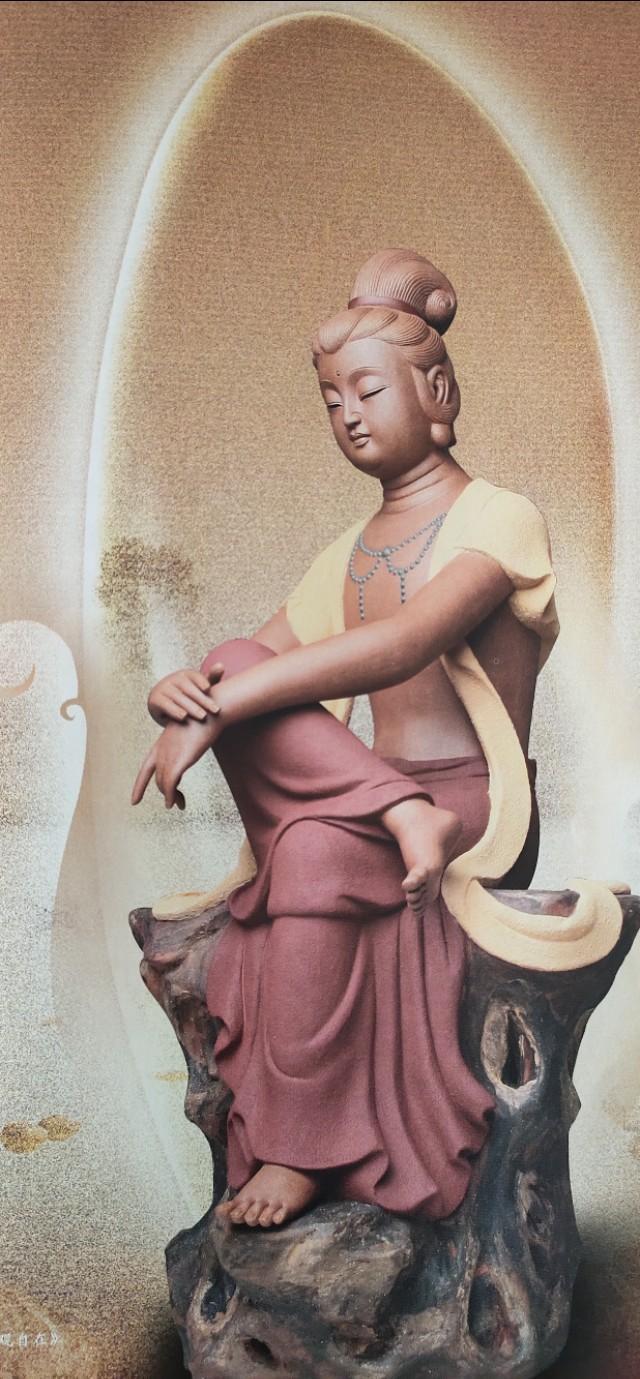 泥塑佛像_泥塑如来佛祖雕像(图片)-鑫艺玻璃钢雕塑工艺品厂
