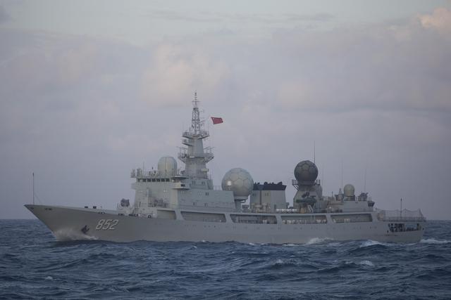 815a型电子侦察船天枢星舷号857