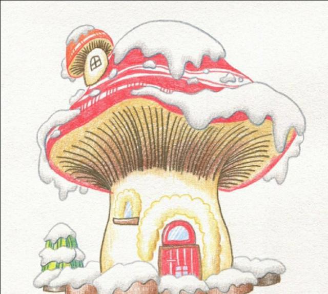 小动物楼房卡通图片