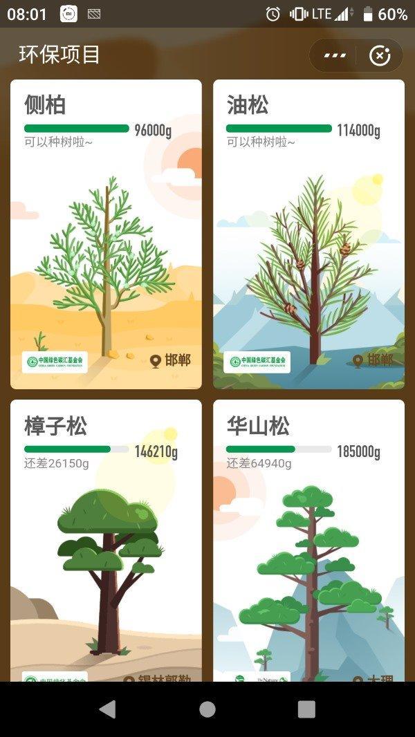 蚂蚁森林图片