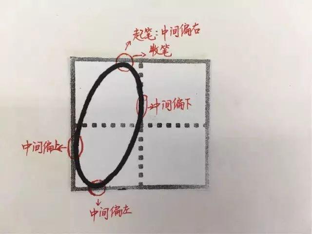 数字描红打印模板