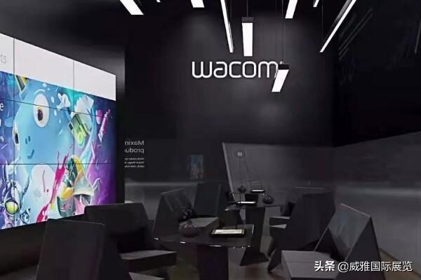 20号舞台活动背景布置上海展台设计舞台活动展会展台展览搭建