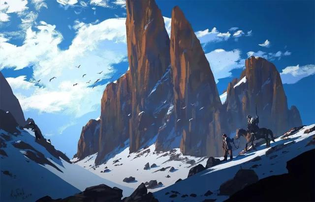 「CG原画插画教程」Raphael Lacoste带来的令人窒息的华丽