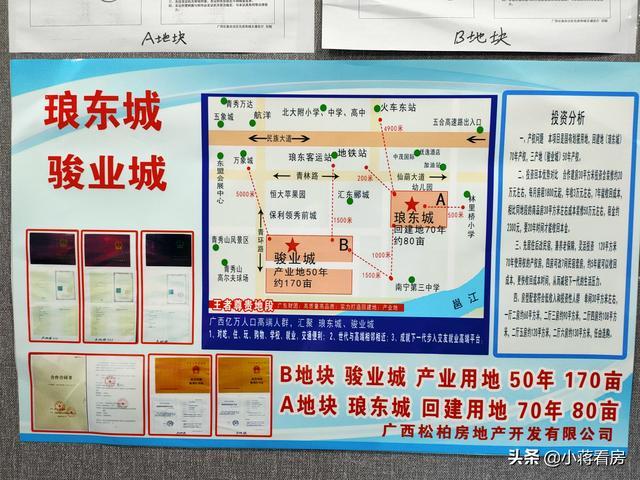 尖叫吧,南宁最大安置类楼盘,地处琅东,250亩38栋