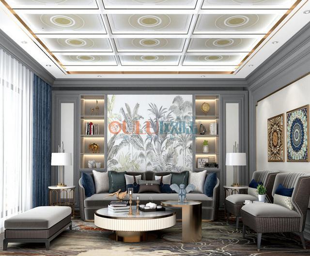欧陆美居全屋顶墙一体化定制,打造中国墙顶系统国货之光