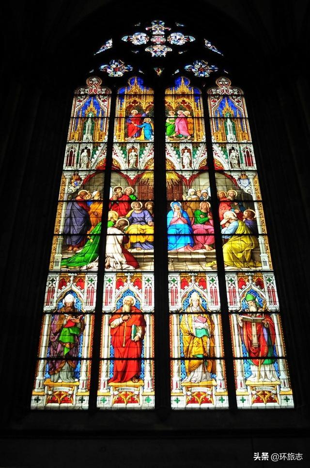 哥特式建筑的杰作:科隆大教堂_腾讯网