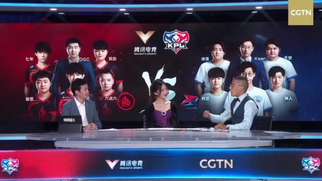 KPL职业联赛首次登上央视海外CGTN荧幕,王者荣耀进入国际视野?
