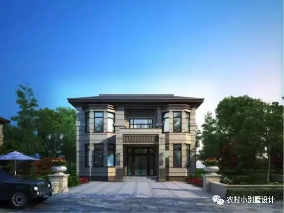 30万自建农村小别墅设计,建成后左邻右舍都羡慕!_腾讯网