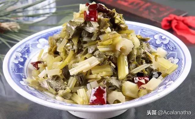 浆水菜拌核桃菌