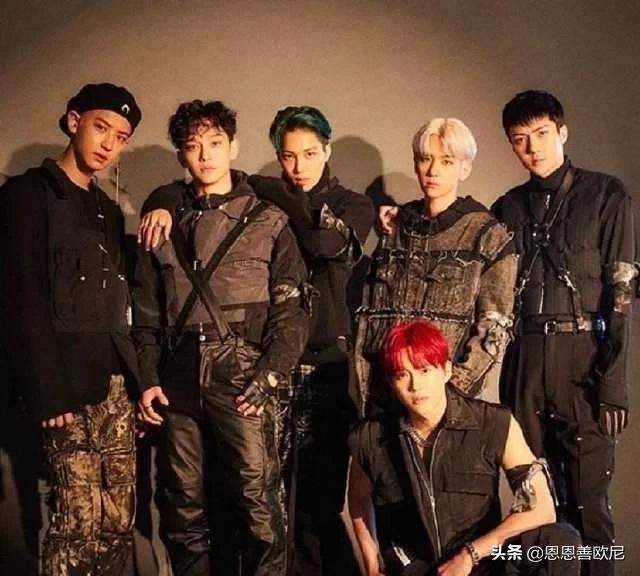 exo成员12人团体照