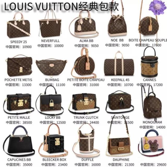 2020全球顶级奢侈品包包排行榜,每一款都是流行单品,你钟爱哪款