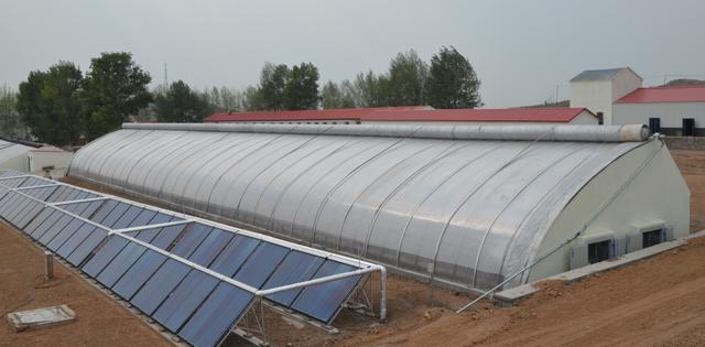 大棚结构 日光温室设计图__工业生产_现代科... _昵图网nipic.com