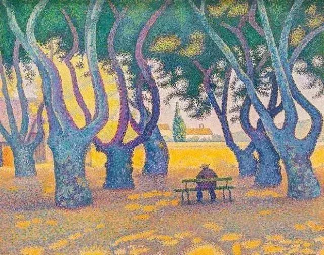 这也许是,最让人惊艳的点彩画——Paul Signac作品