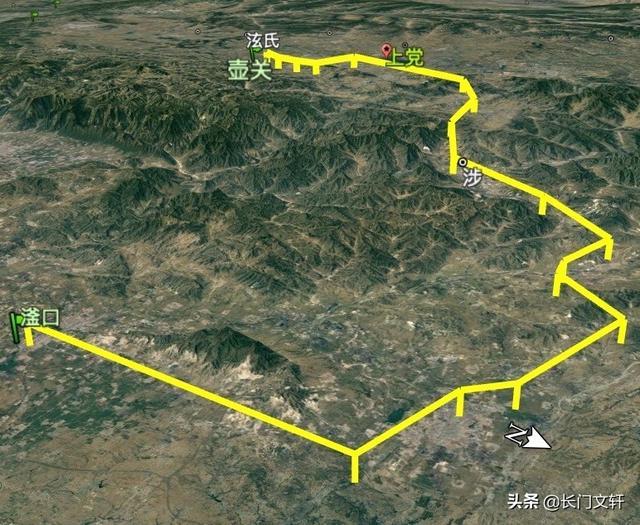 长平之战军事地图