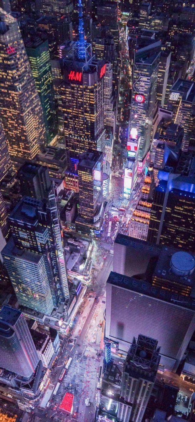 城市夜景灯光风景图片