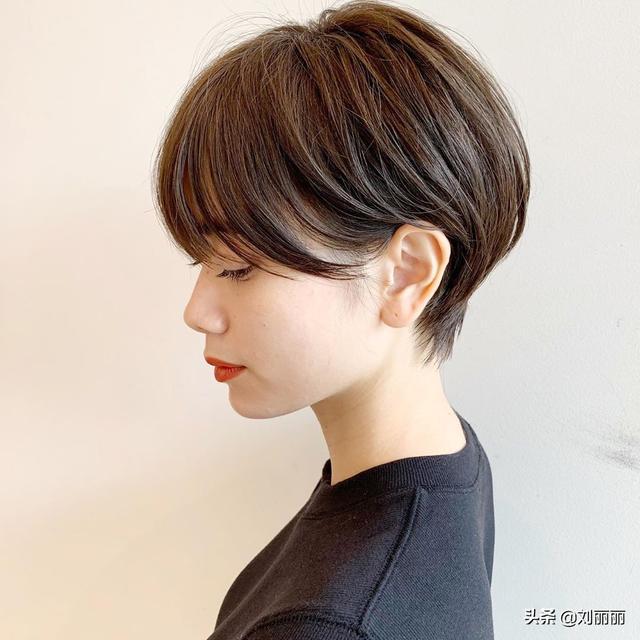 越剪越时尚短发,蓬松立体美美哒,想要好看照着剪就对了