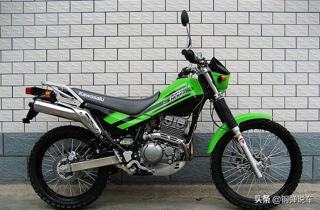 川崎klx250越野摩托车